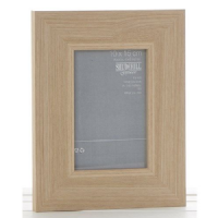 6 x 8 Inch Picture Broad Width Framed Wood Oak Effect Photo Picture Frame (1)